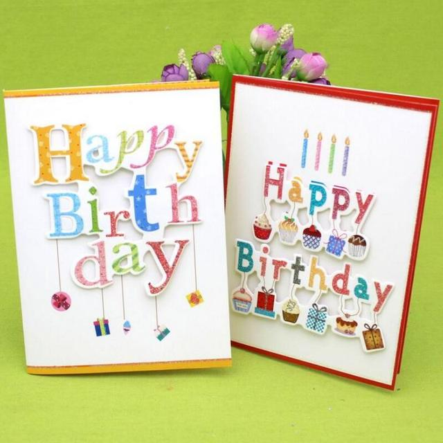 10 Pcs/lot 3D Folding Music Cards Handmade Birthday