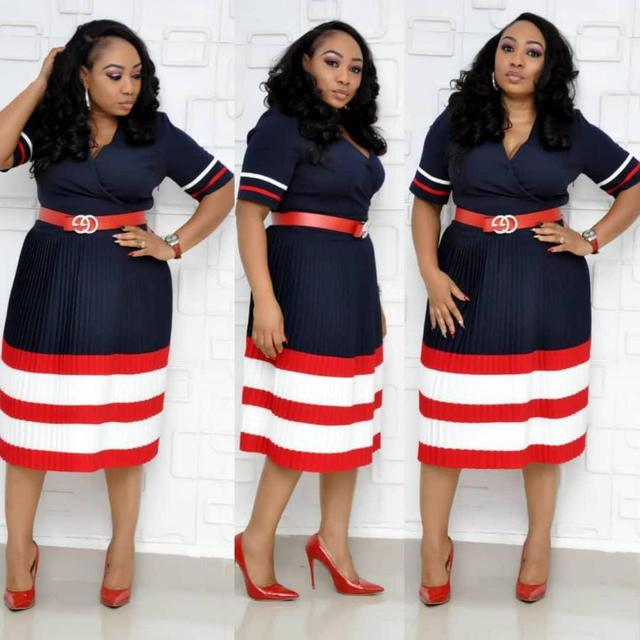 great office dress fun stripes 1