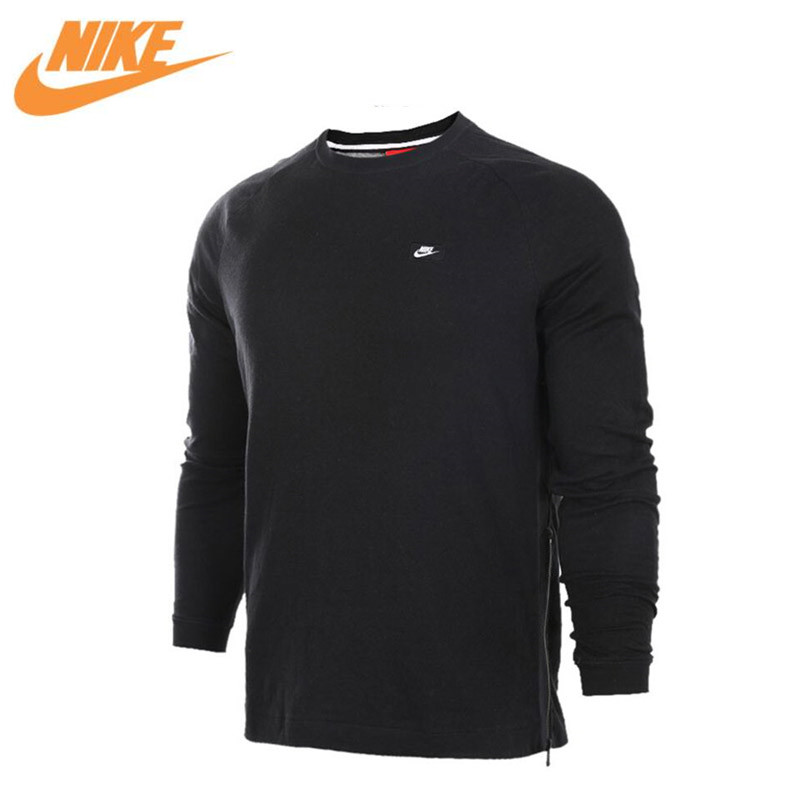 Original New Arrival Authentic NIKE Men's Breathable Knitted Leisure Pullover Jerseys Sportswear 846351-010 цена