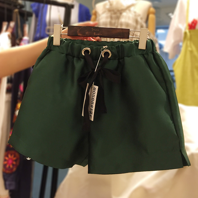 2016 plus size women xl-5xl Autumn new large size women Slim thin super-elastic waist shorts big size women's clothing