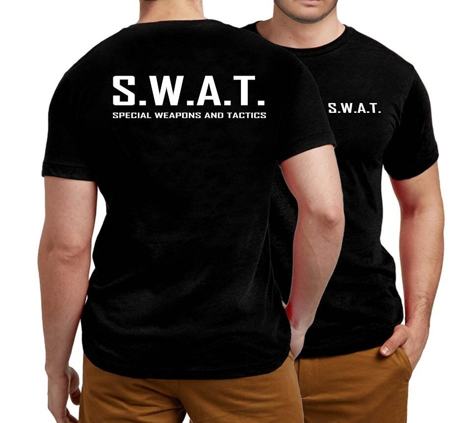 SWAT HOODIE HOODY TOP SPECIAL WEAPONS AND TACTICS NATIONAL SECURITY WORK WEAR