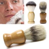 новая щетина бук борода парикмахерские кисти инструмент дерево для бритья лучше для мужчин отец подарок парикмахерские инструменты лидер продаж