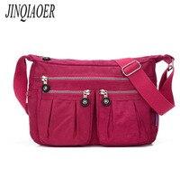 JINQIAOER Waterproof Nylon Women Messenger Bags High Quality Handbag Casual Clutch Carteira Travel Shoulder Bags Kiple