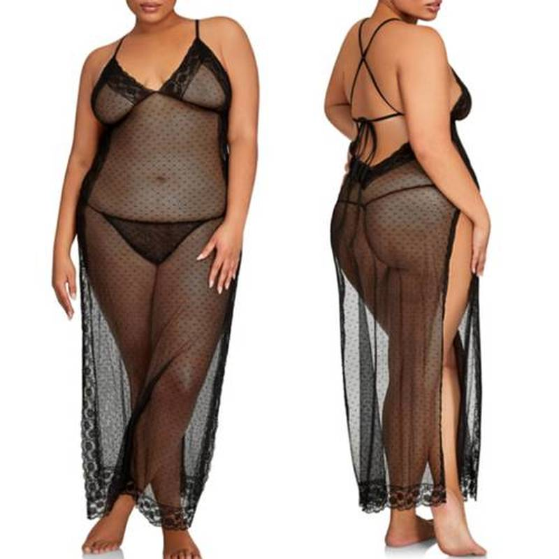2018 Plus Size Beach Cover Up Transparent Mesh Dress Bikini Swimsuit Bathing Suit Cover Ups Robe De Plage Long Dress Cover Ups