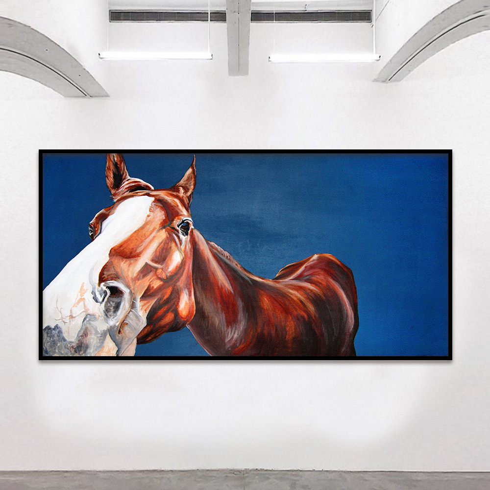 Horse Home Decor: HDARTISAN Wall Art Canvas Pictures Animal Painting Canvas
