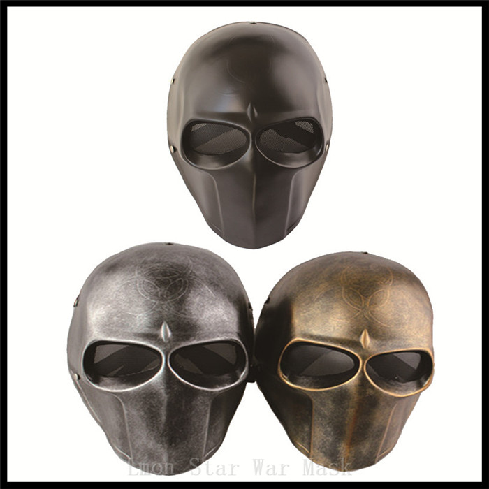 Haut Grade Resident Evil crâne ventilateur masques, domaine CS Halloween en plein air Airsoft Tactique Wargame Factice Gaz De Protection Masque Cosplay