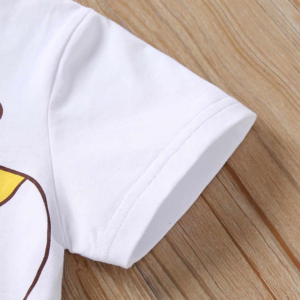 新生児服幼児服ベビー服漫画のプリント Tシャツトップスショーツアウトフィットカーターズベビー少年セット ropa bebes ニーナ