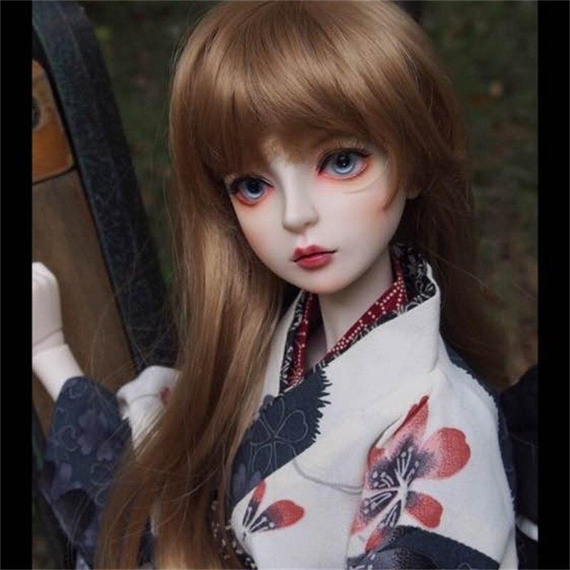 OUENEIFS ShallA DOD bjd sd doll 1 3 body model baby girls boys eyes High Quality