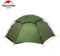 Naturehike Ultralight Tent 2 Person 20D Silicone Fabric Double Layers With Waterproof Tent Roof Rainproof Camping