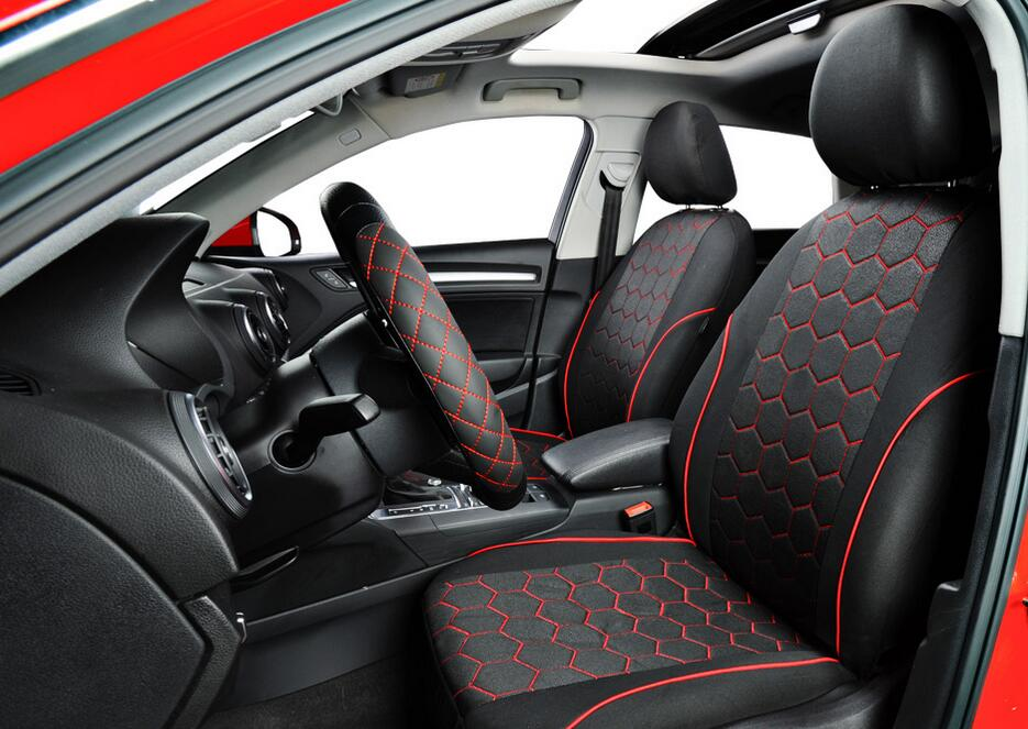 Classic Soccer Ball Style Car Seat Covers Autos Interior Accessories Seat Covers