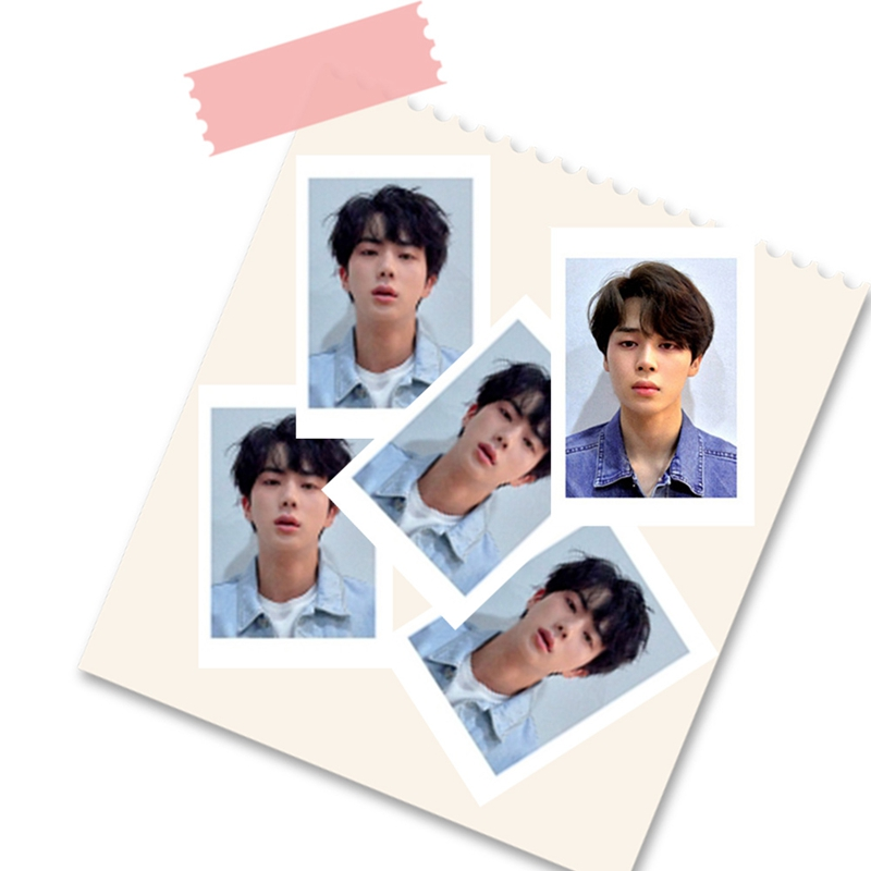 8pcs/set KPOP Bangtan Boys LOVE YOURSELF Album Photo Card Hip Hop Self Made Paper Cards Photocard