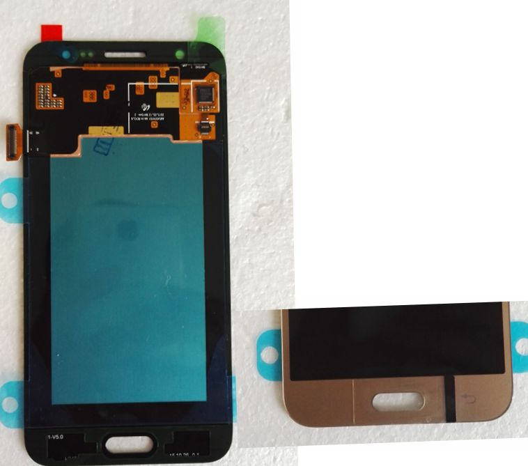 2015 Gold color Lcd Display +Touch Digitizer Screen Assembly for Samsung Galaxy J5 SM-J500F repair parts