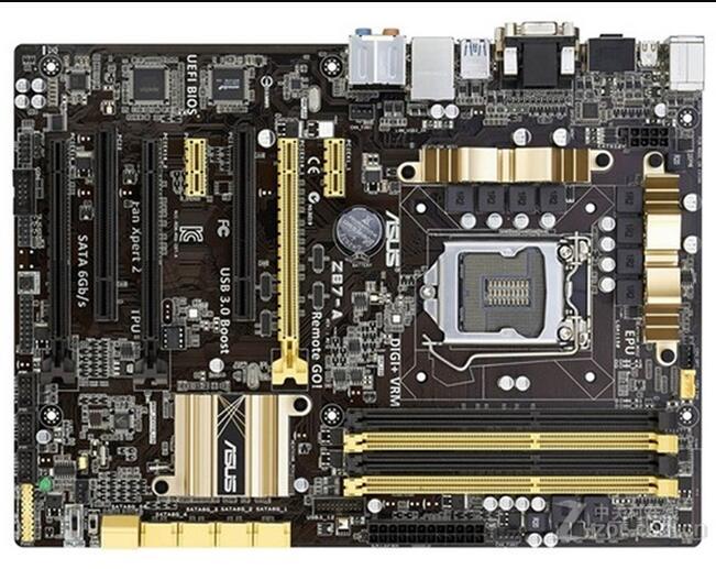 Asus Z87-A Desktop Motherboard Z87 Socket LGA 1150 i7 i5 i3 DDR3 32G