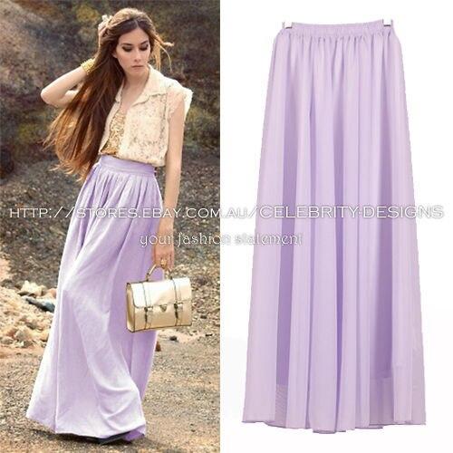 White maxi skirt flowy – Modern skirts blog for you