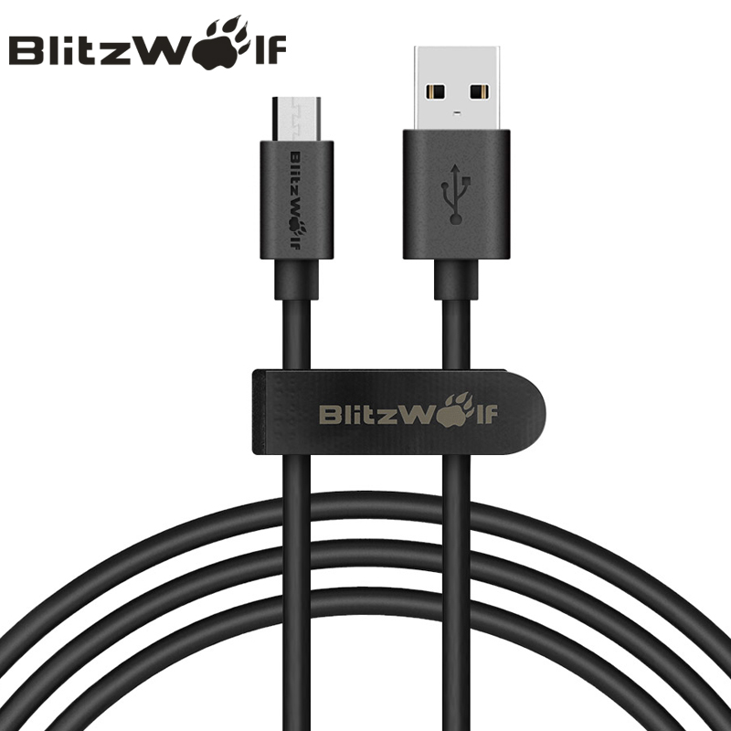 BlitzWolf Micro USB Cable 1m Mobile Phons