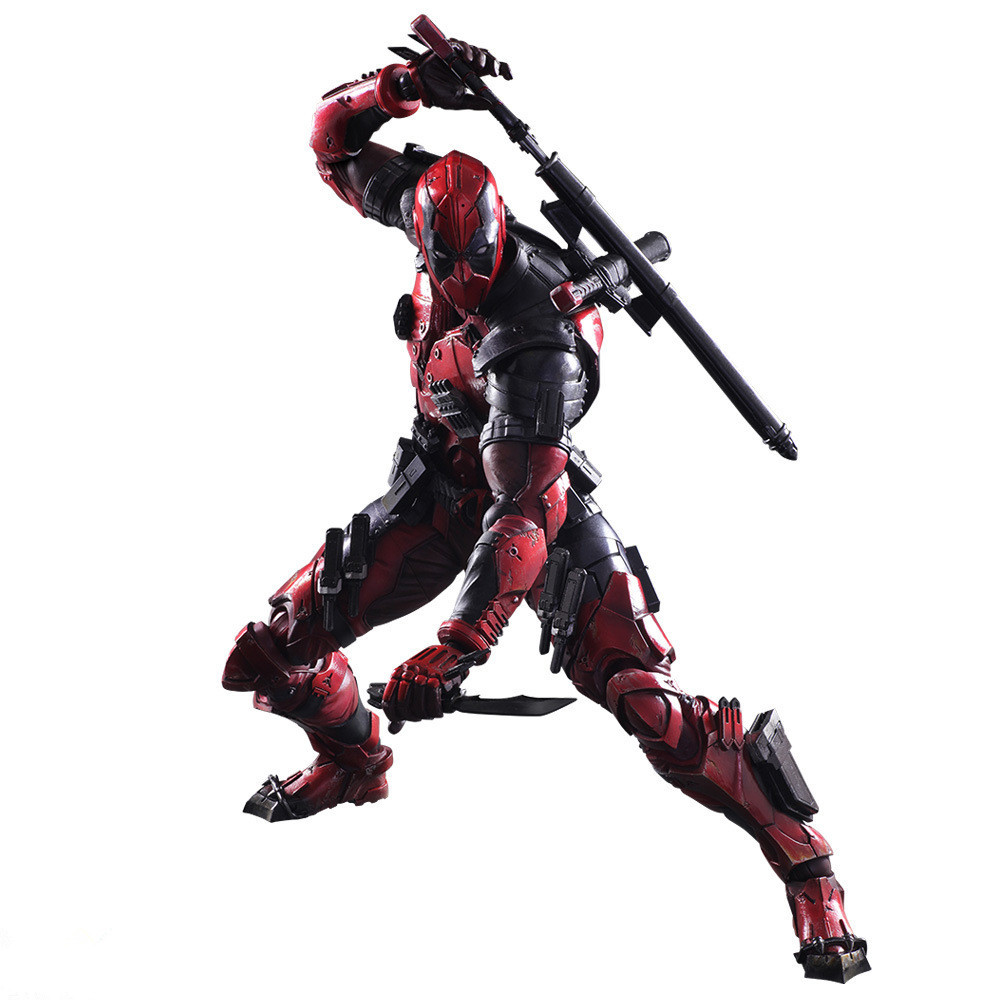 WVW 26CM Hot Sale Comic Hero Deadpool Wolverine X-MEN Play Arts Model PVC Toy Action Figure Decoration For Collection Gift oreimo comic anthology