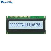 Беласветодиодный светодиодная подсветка 1601 16X1 символьный модуль цифрового ЖК-дисплея LCM STN SPLC780D KS0066 5 в Однорядная интерфейсная плата