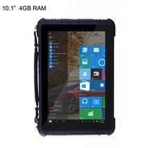 Original Rugged Waterproof Windows 10 Tablet PC Smartphone Intel Quad Core 10.1″ Screen 4GB RAM 64GB ROM 4G LTE RS232 10000mAH