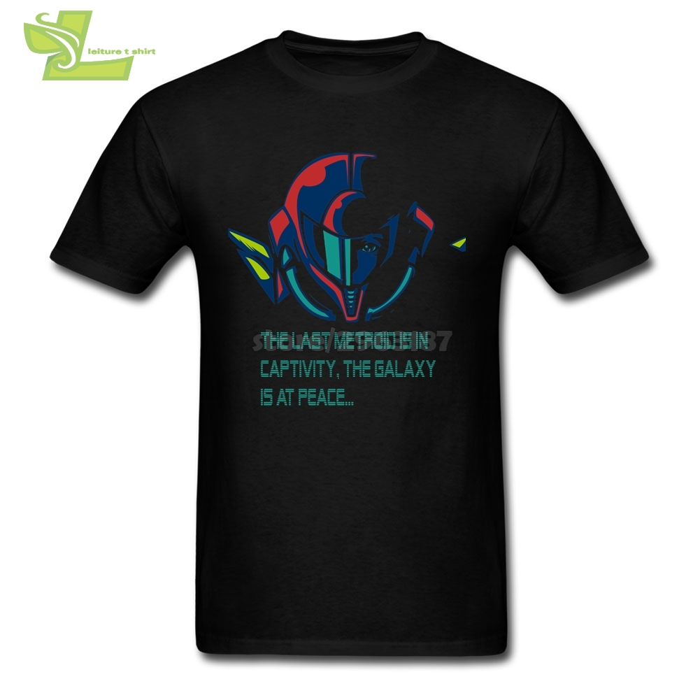 Super Metroid Cool   T     Shirts   for Men Teenage Cotton Short Sleeved Tee New Color   T     Shirt   With Print