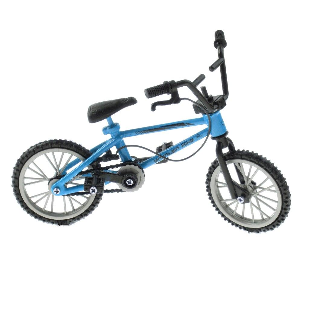 1:24 Scale Finger Mountain Bike, Mini Bicycle Model With Repair Tool ...