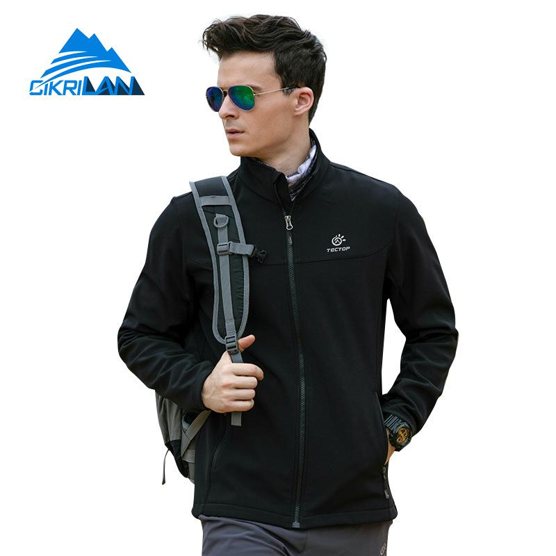 Mens Water Resistant Camping Hiking Sports Fleece Lined Coat Outdoor Softshell Jacket Men Climbing Golf Fishing Chaquetas Hombre отсутствует ванюшка и царевна