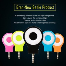 Fashion mini Built-in 8 led lights flash LED retina flashes for front camera Smart Phone for multiple Photography selfie sync