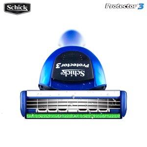 Image 5 - 18 ใบมีด/lot = 3 AAAAA ของแท้ใหม่แพคเกจ Schick Protector 3d เพชรสำหรับชายมีดโกนใบมีดในสต็อก