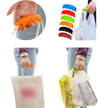 Candy Color Silica Gel Practical Hooks Hand Shopping Labor Saving Bag Lifter Vegetable Extracter Practical Tools Wholesale S#10