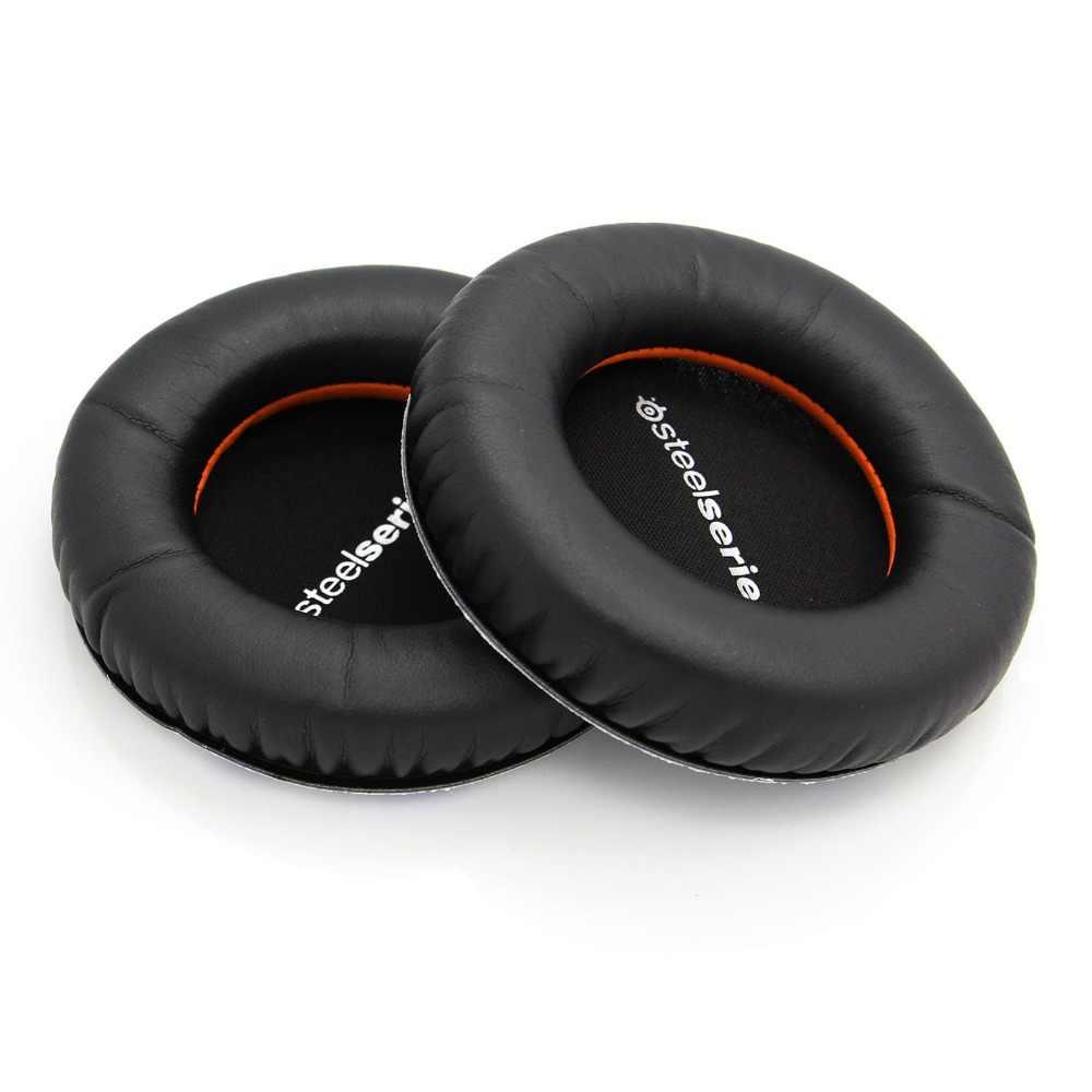 Новая замена ушной вкладыш подушки кожаные наушники для Steelseries Siberia V1 V2 V3 игровые наушники