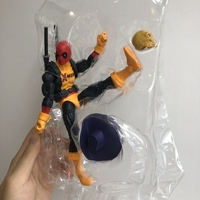 Original Marvel Legends Figurine 6'' Marvel: Deadpool with sword Joints Doll Action Figure Collectible Model Loose Toy