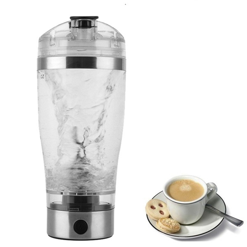 Top Sale Portable Vortex Electric Protein Shaker Mixer Bottle 600ml Capacity Free Detachable Cup 350ml electric protein shaker auto stirring mug blender lazy self stir tornado nutrition mixer bottle cup fitness portable