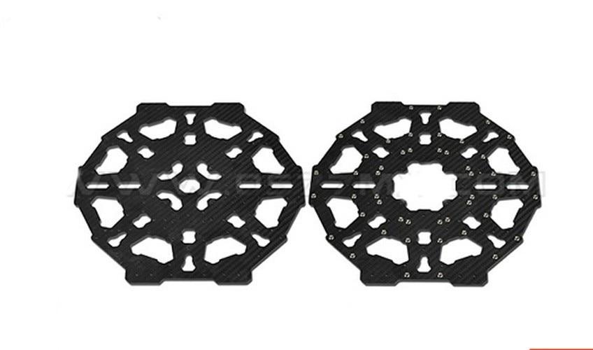 Самолет Таро углеродного волокна основной крышки Настольные плиты TL100B03 черный 8-ось