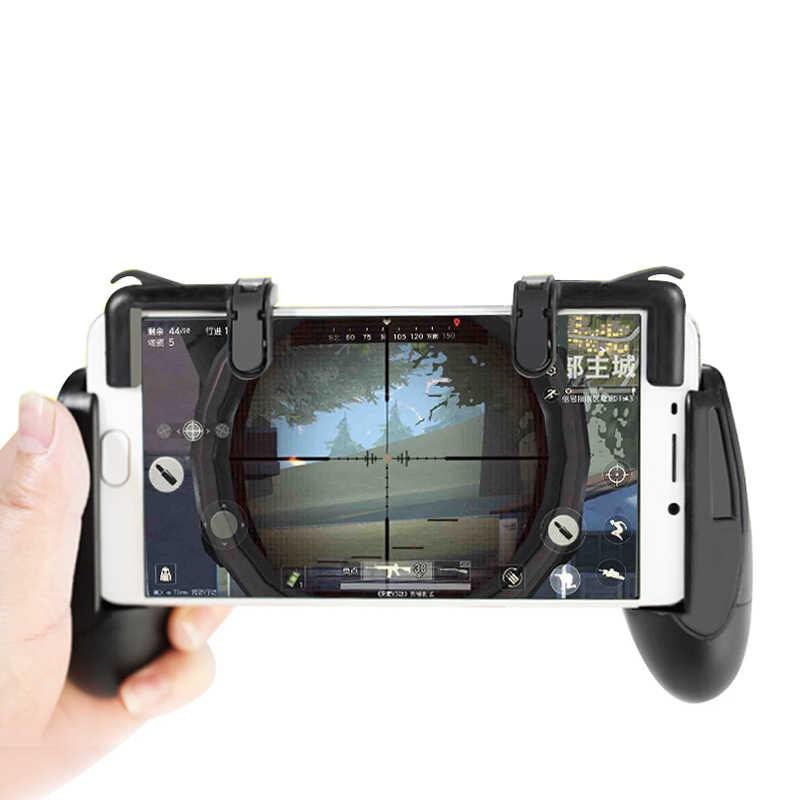1 пара игровой контроллер геймпад джойстик триггер для PUBG сотовый телефон мобильный огонь стрельба Кнопка L1R1 цель ключ для Android