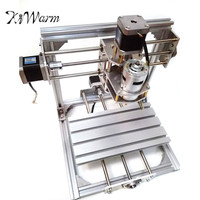 KiWarm DIY Mini 3 Axis CNC Engraver Machine PCB Milling Wood Carving Engraving Router Kit Carving