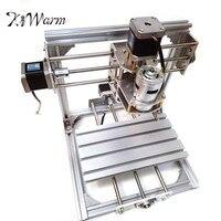 KiWarm DIY Mini 3 Axis CNC Engraver Machine PCB Milling Wood Carving Engraving Router Kit Carving