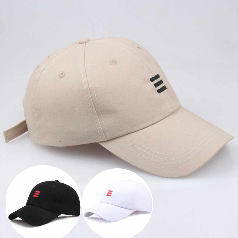 Fashion Baseball cap Summer Cotton Cap Solid color HipHop Fitted hats  streetwear truckercap bone masculino casquette 1de83405258