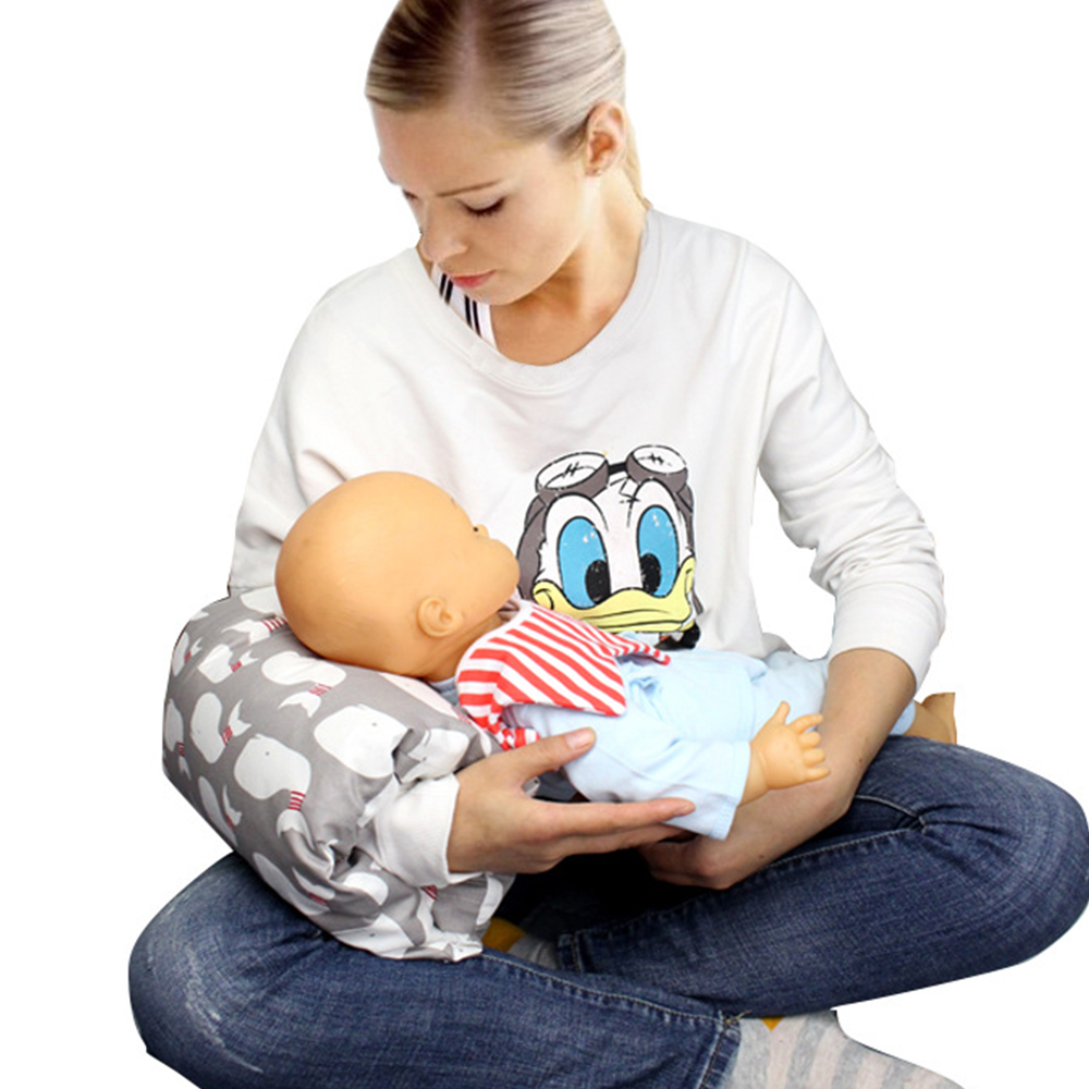 Newborn Baby Arm Pillow Breastfeeding Nursing Pillow Baby Shower Cartoon Arm Cushion For Breastfeeding Pillow Bottle Feeding