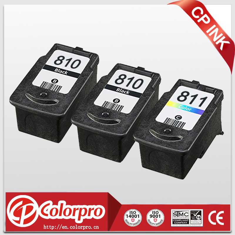 CP Remanufactured Ink Cartridge PG-810XL CL-811XL untuk Canon PIXMA IP1180 IP1200 IP1600 IP1800 IP1880 IP1980 IP2200 (2BK / 1C)