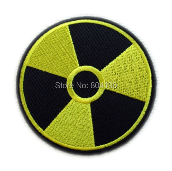 3 RADIATION NUCLEAR ARMY MILSPEC IRON ON SEW ON PATCH clothes application Wholesale