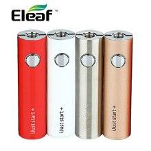100% оригинал eleaf ijust начать плюс 1600 мАч батареи электронная сигарета ijust начать + батарея 5 Вт-30 Вт выход мощность 5 цветов ecigs