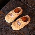Sapatas dos miúdos Meninos Meninas Sapatos Quentes de Algodão Crianças Chinelos Meninos de Pele Confortável Chinelos Meninas Chinelos Sapatas Dos Miúdos
