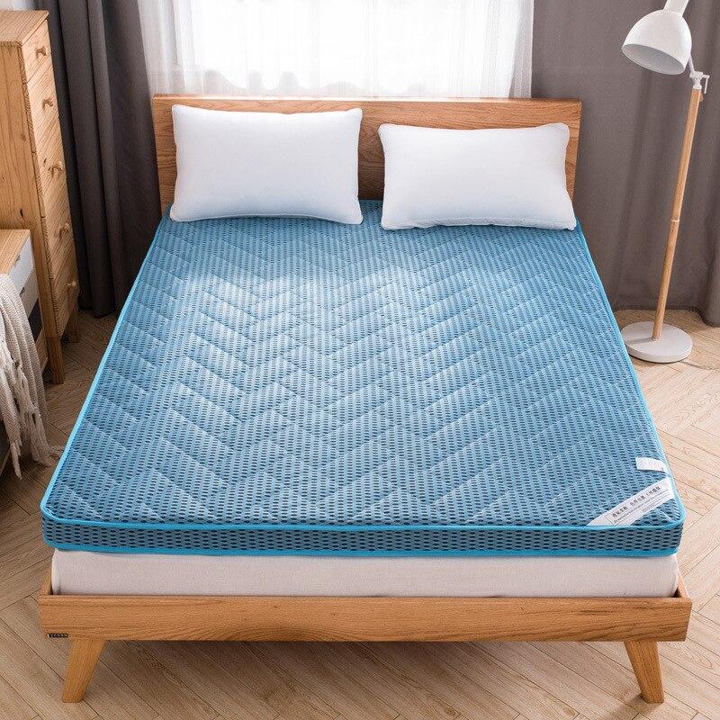 Bamboo fiber spring and summer foam mattress  bed folding tatami floor mattress student dormitory mat