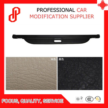 Black beige color Rear Trunk Security Shield retractable Cargo cover Tonneau cover for Rex