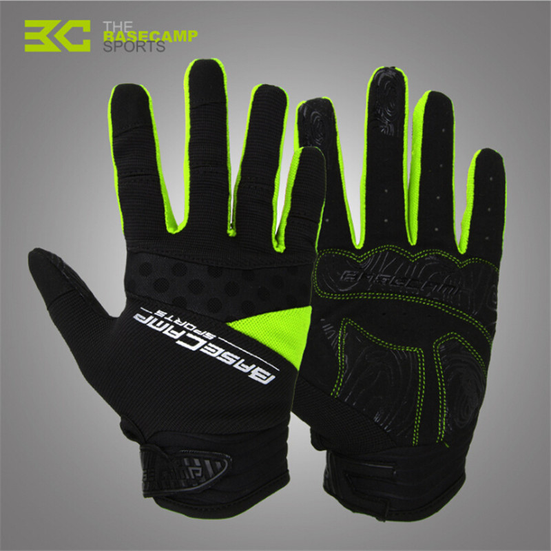 Racing Full Finger Long Cycling Bicycle Gloves GEL Road Mountain Biker Silicone Non-Slip Breathable Gloves Mens Hot Sale
