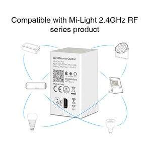 Image 4 - Milight YT1 voz por WiFi controlador remoto DC5V USB Smart 4G Android IOS APP controlador para 2,4 GHz RGB CCT RGBW tira de bombillas led
