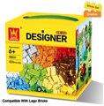 625 unids/lote Niños DIY Juguetes Educativos Bloques de Construcción Compatibles Con Ladrillos Lego Piezas Niños Aprendizaje Temprano Juguetes De Plástico de Montaje