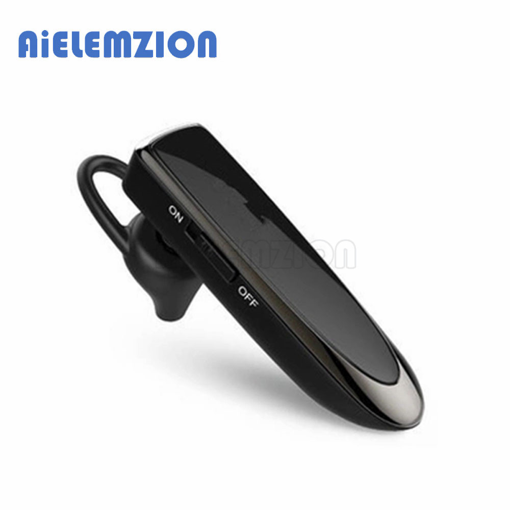 AiELEMZION Mini Bluetooth Wireless In-Ear Earphone with Microphone 30days Long Standby Time Stereo Earbuds Portable In-ear new guitar shape r9030 bluetooth stereo earphone in ear long standby headset headphone with microphone earbuds for smartphones