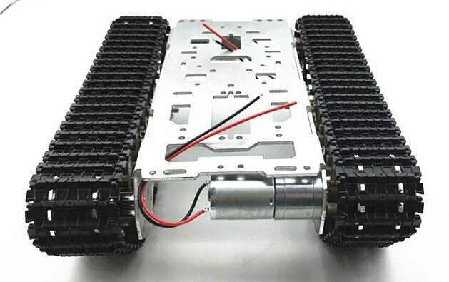 Damping balance Metal Tank Robot Chassis Aluminium alloy Platform high power Spring DIY crawler браслет power balance бкм 9656