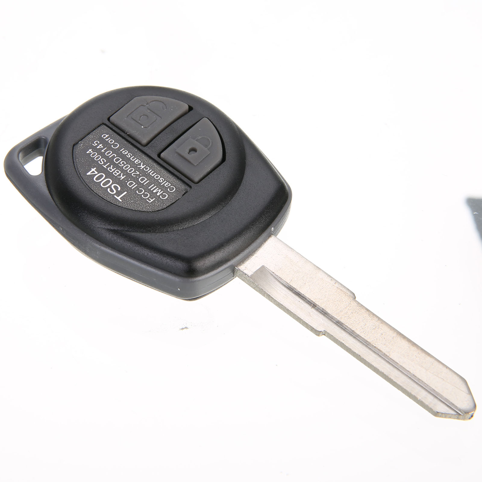 Mayitr New Arrivals 2 Buttons Remote Car Key Fob 433MHz ID46 Chip For Suzuki SX4 Swift 37145-55JU0