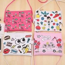 Girls Printed Graffiti Mini Crossbody Shoulder Bag